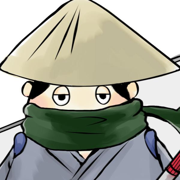 ホワイトボード侍(呆れ)