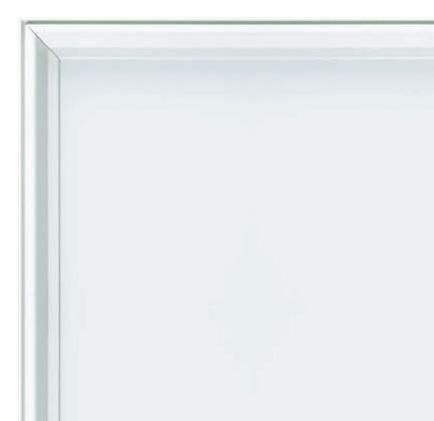 ホワイトアルミ枠のホワイトボード